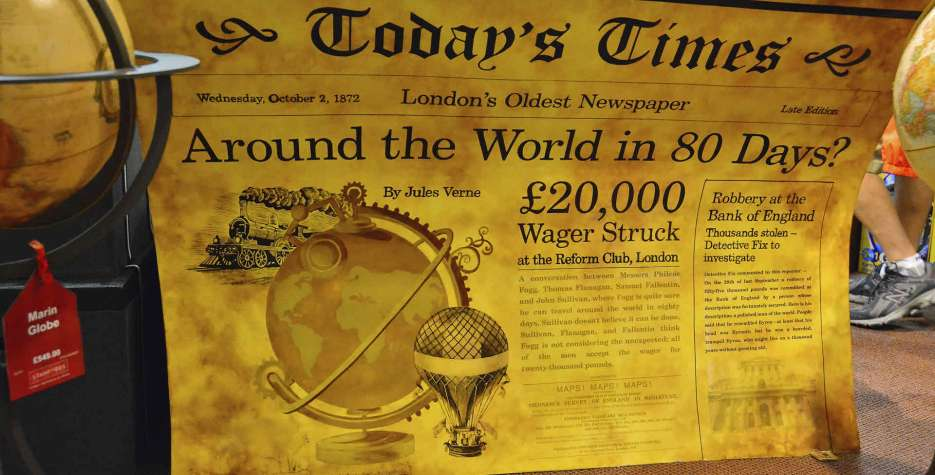 Phileas Fogg Win A Wager Day in USA in 2020