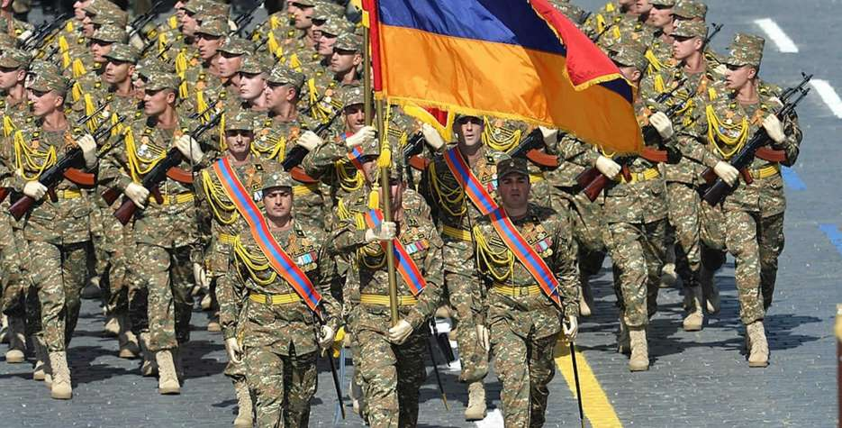 Frontier Guards Day in Armenia in 2021