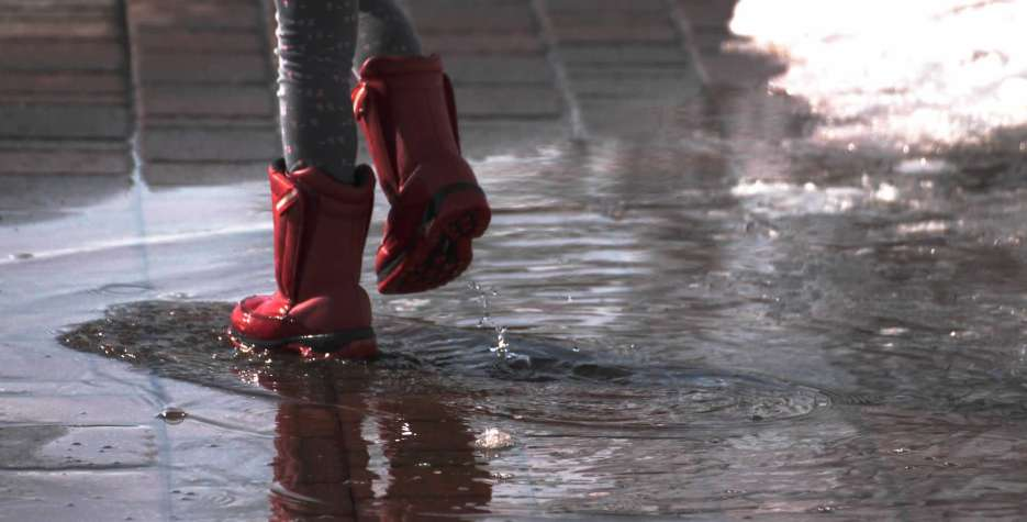 National Step in the Puddle and Splash Your Friends Day in USA in 2021