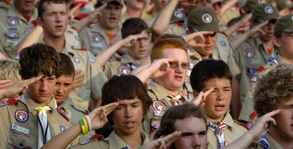 National Boy Scouts Day in USA in 2022