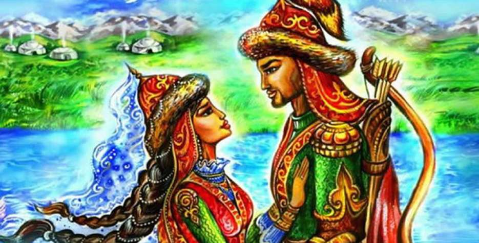 In Kazakhstan, this day has overtaken Valentine's Day as the day to celebrate love.
