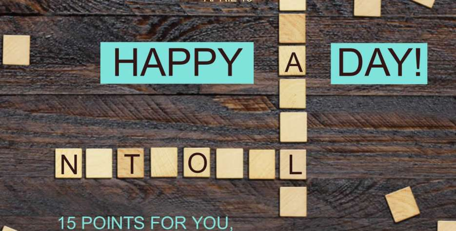 National Scrabble Day around the world in 2021