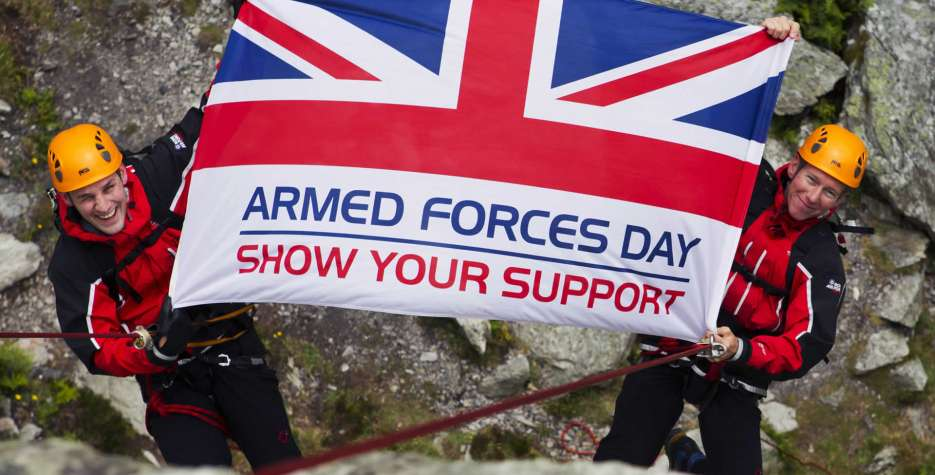 Armed Forces Day in United Kingdom in 2021