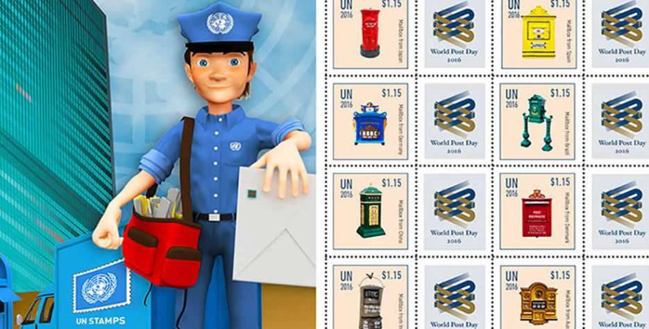 World Post Day in United Nations in 2021